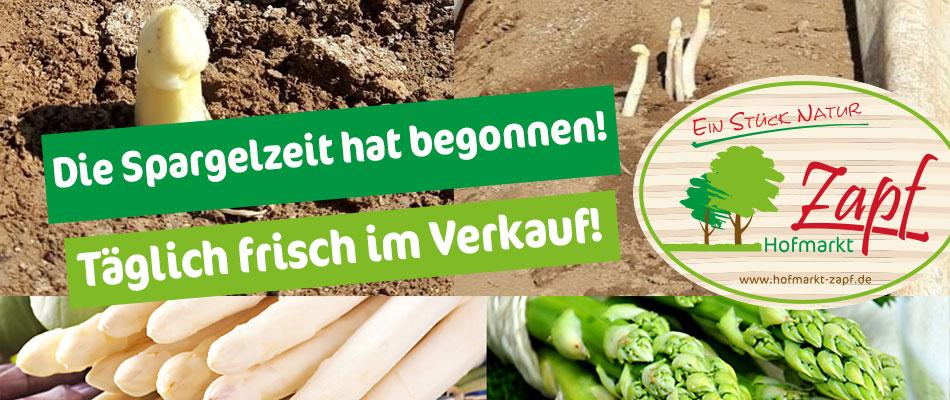 Hofmarkt Zapf - Frischer Spargel